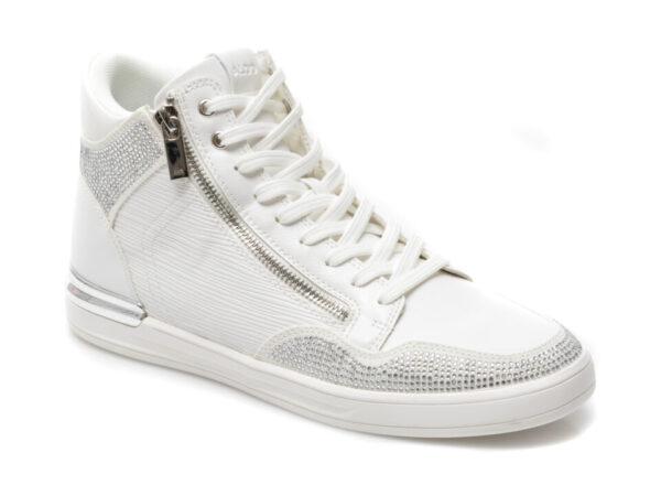 Pantofi ALDO albi, Sauerberg110, din piele ecologica