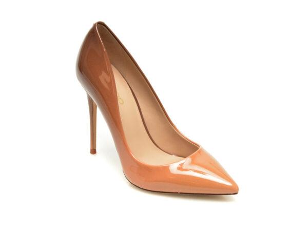 Pantofi ALDO maro, Stessy_610, din piele ecologica