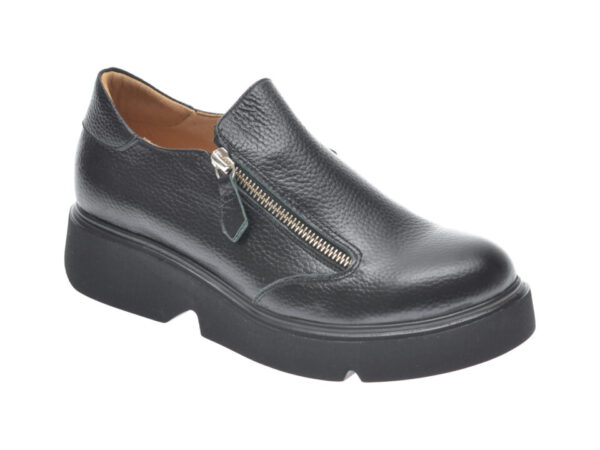 Pantofi FLAVIA PASSINI negri, 1241059, din piele naturala