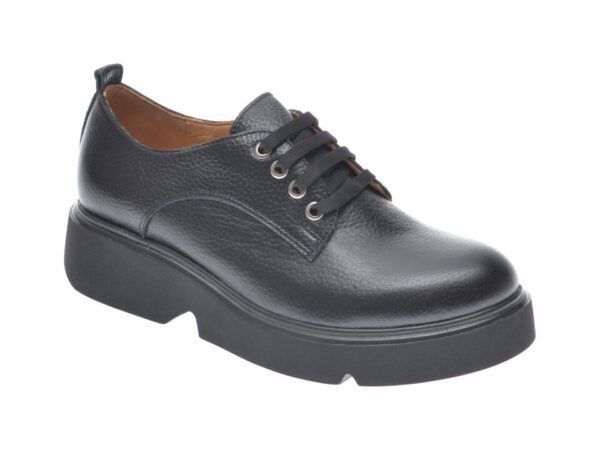 Pantofi FLAVIA PASSINI negri, 1241319, din piele naturala