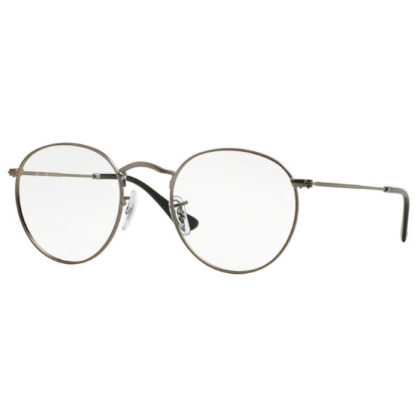 Rame ochelari de vedere barbati Ray-Ban Round Metal RX3447V 2620
