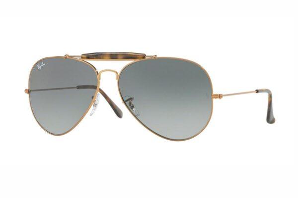 Ray-Ban 3029 Outdoorsman II 197 / 71 Grey Gradient Sonnenbrille