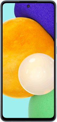 Samsung Galaxy A52 5G (128GB Blue) at £19.99 on Pay Monthly 5GB (24 Month contract) with Unlimited mins & texts; 5GB of 4G data. £21.99 a month.