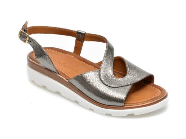 Sandale FLAVIA PASSINI gri, 2049, din piele naturala
