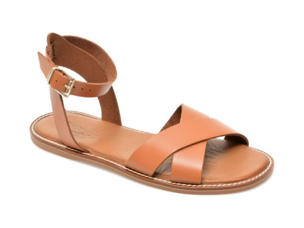 Sandale FLAVIA PASSINI maro, 21178, din piele naturala
