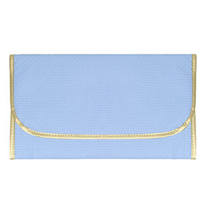 Trocador Dobrável Bebê Masculino Azul Texturizado - Merver - Tamanho único - Azul