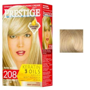 Vopsea pentru Par Rosa Impex Prestige, nuanta 203 Barbie Girl