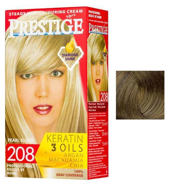 Vopsea pentru Par Rosa Impex Prestige, nuanta 204 Dark Blonde