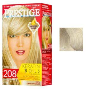 Vopsea pentru Par Rosa Impex Prestige, nuanta 207 Arctic Blonde