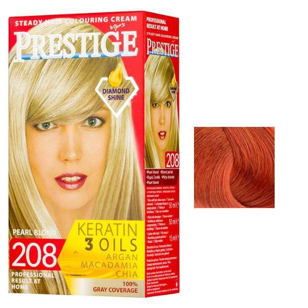 Vopsea pentru Par Rosa Impex Prestige, nuanta 217 Copper Shine