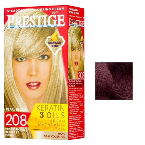 Vopsea pentru Par Rosa Impex Prestige, nuanta 233 Dark Morello