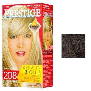Vopsea pentru Par Rosa Impex Prestige, nuanta 236 Brown Nougat