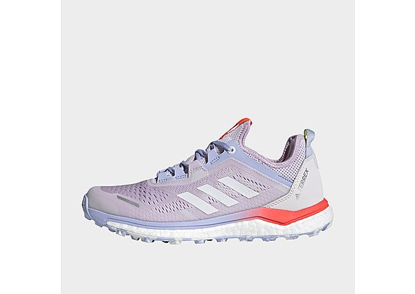 adidas Terrex Agravic Flow Trail Running Shoes - Purple Tint - Womens
