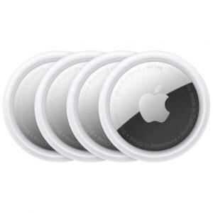 Apple AirTag (4er-Pack) - Tracker - Weiß/Silber