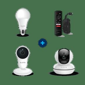 Combo Smarty + Câmera Robô + Câmera fixa + Lâmpada