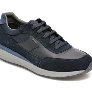 Pantofi GEOX bleumarin, U150GA, din piele naturala