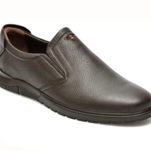 Pantofi OTTER maro, 556, din piele naturala