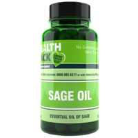 Sage Oil 50mg Capsules 3 x 60 Capsules Refill Pack