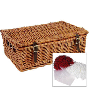 """14"""" Traditional Lidded Hamper with Packaging"""