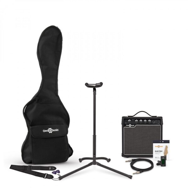 15 Watt Guitar Amp & Accessory Pack by Gear4music