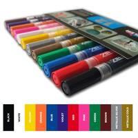 Acrylic Paint Marker Pens πpe; Medium tip (2.5mm) πpe; Mix and Match - Pick 3 - by Zieler