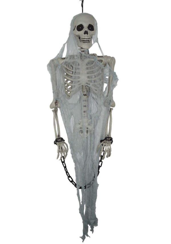 Animated Talking Skeleton Halloween Decoration