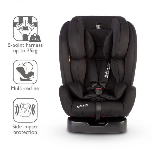 Babyauto Dupla Group 0+1/2/3 Car Seat-Black