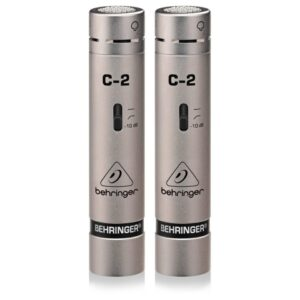 Behringer C-2 Condenser Microphone Matched Pair