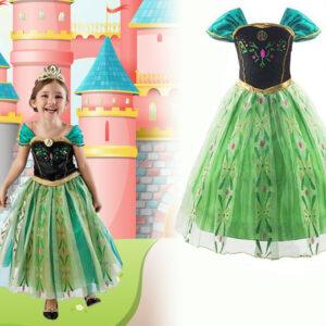 Children's Snow Queen Costume Dress