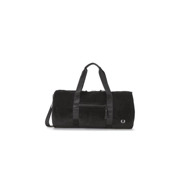 Cord Barrel Bag - Black