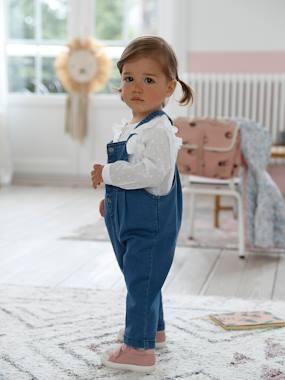 Dungarees in Denim for Baby Girls denim blue
