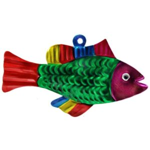 Fish Tin Ornament -Pack of 10