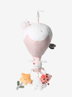 Hanging Hot Air Balloon, Pink World multi