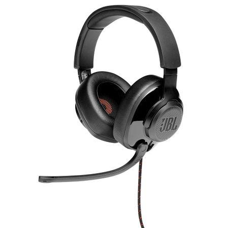 Headset Gamer JBL Quantum 200 para Consoles e PC Black