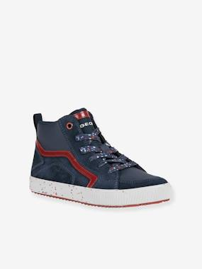 High Top Trainers for Boys, J Alonisso Boy by GEOX® black