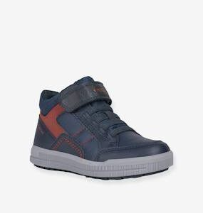 High Top Trainers for Boys, J Arzach Boy by GEOX® black