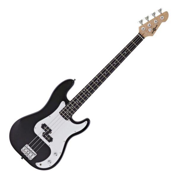 LA Bass Guitar by Gear4music Black