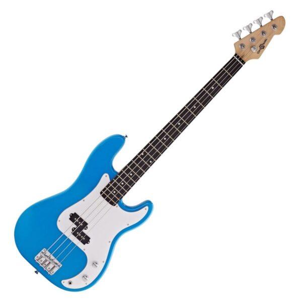 LA Bass Guitar by Gear4music Blue