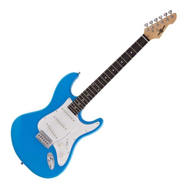 LA Electric Guitar by Gear4music Blue