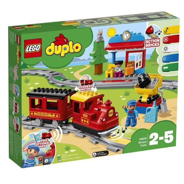 Lego Duplo Town Steam Train