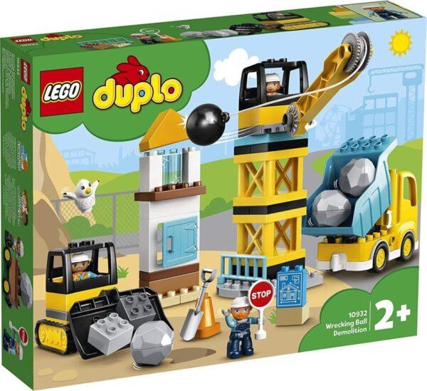 Lego Duplo Wrecking Ball Demolition 10932