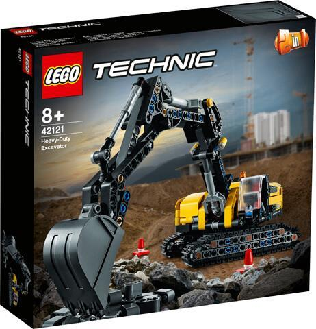Lego Technic 2in1 Heavy Duty Excavator 42121