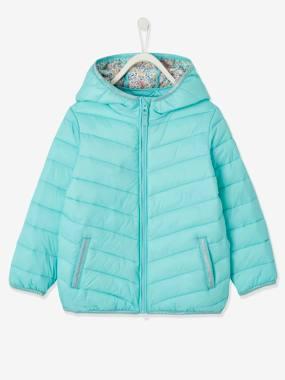 Lightweight Jacket with Hood, for Girls light green