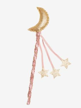Magic Wand with Moon light pink