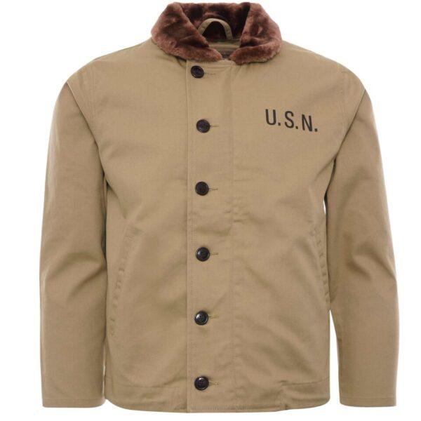 N1 Deck Liner Jacket - Khaki