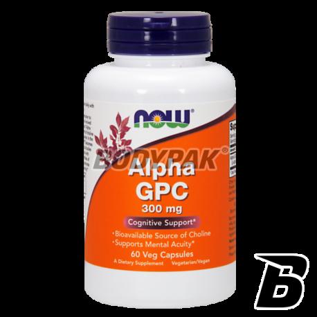 NOW Foods Alpha GPC 300mg - 60 kaps.