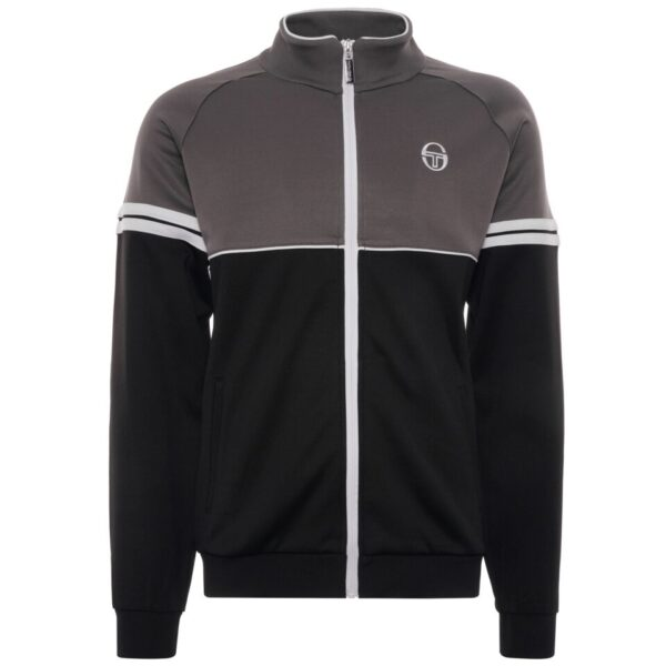 Orion Track Top - Black/Charcoal Grey