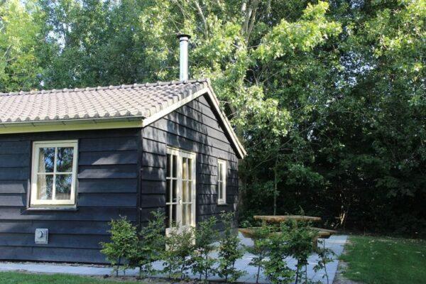 Polderhuisje 2 Vuur Groene Camping Lage Zwaluwe
