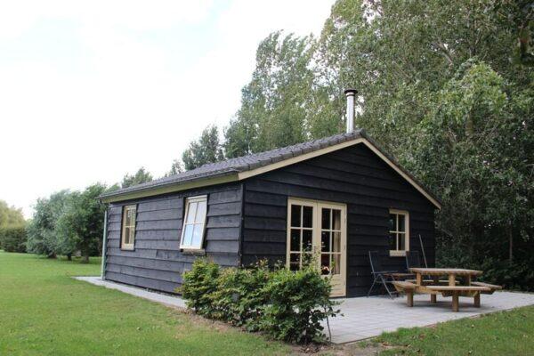 Polderhuisje 3 Aarde Groene Camping Lage Zwaluwe