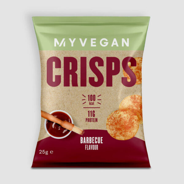 Popped Protein Crisps - 25g - Barbecue
